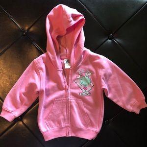 Other - Pink zip up jacket